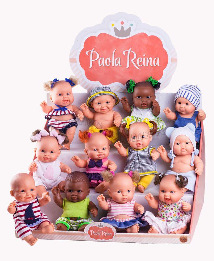 Куклы-пупсы, 22 см (12 шт., россыпь)