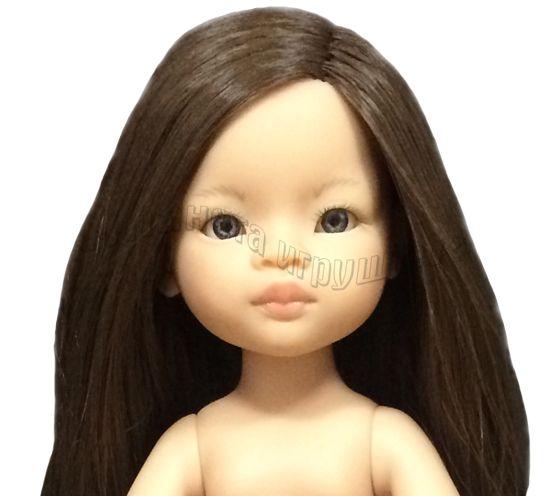Кукла Мали б/о, 32 см (прямые волосы, без челки, глаза серые)
