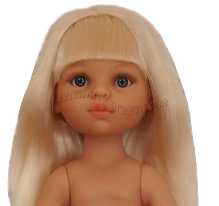 Кукла Клаудия б/о, 32 см (прямые волосы, челка, глаза серые)