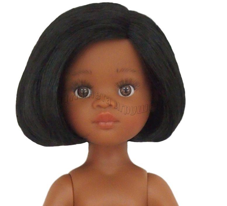 Кукла Нора б/о, 32 см (каре, без челки, глаза кари